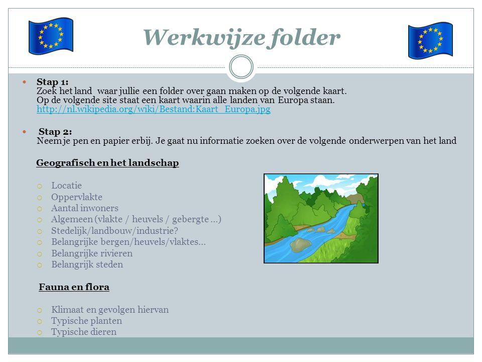 Werkwijze folder