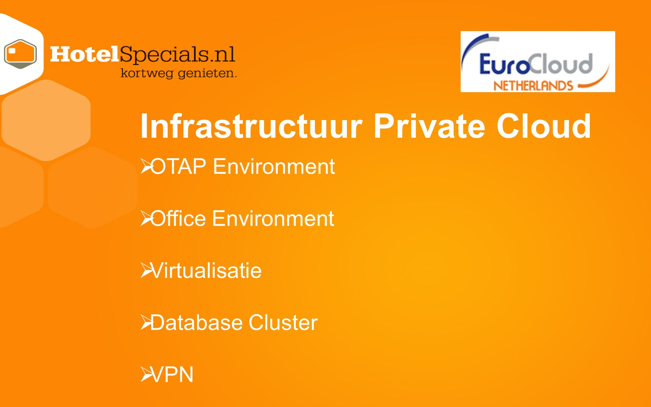 Infrastructuur Private Cloud