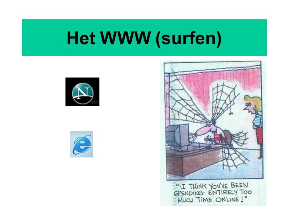 Het WWW (surfen)