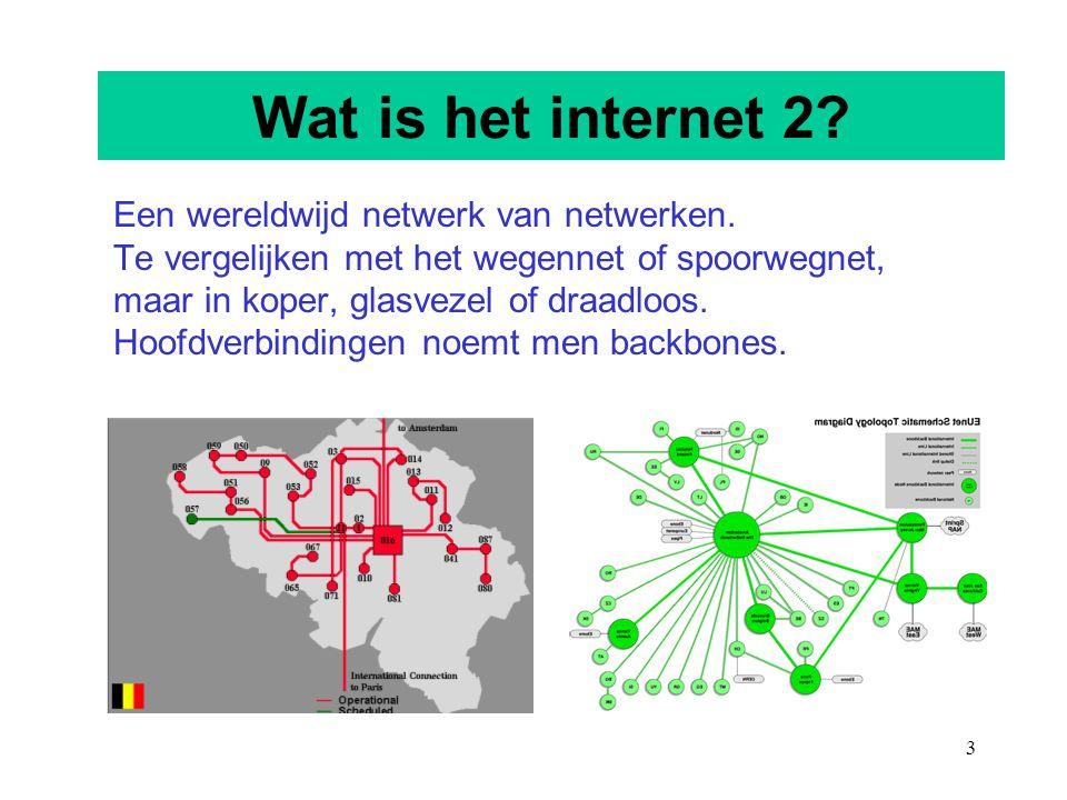 Wat is het internet 2