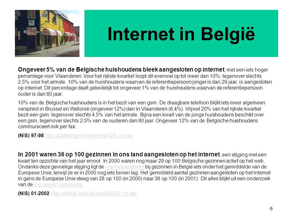 Internet in België