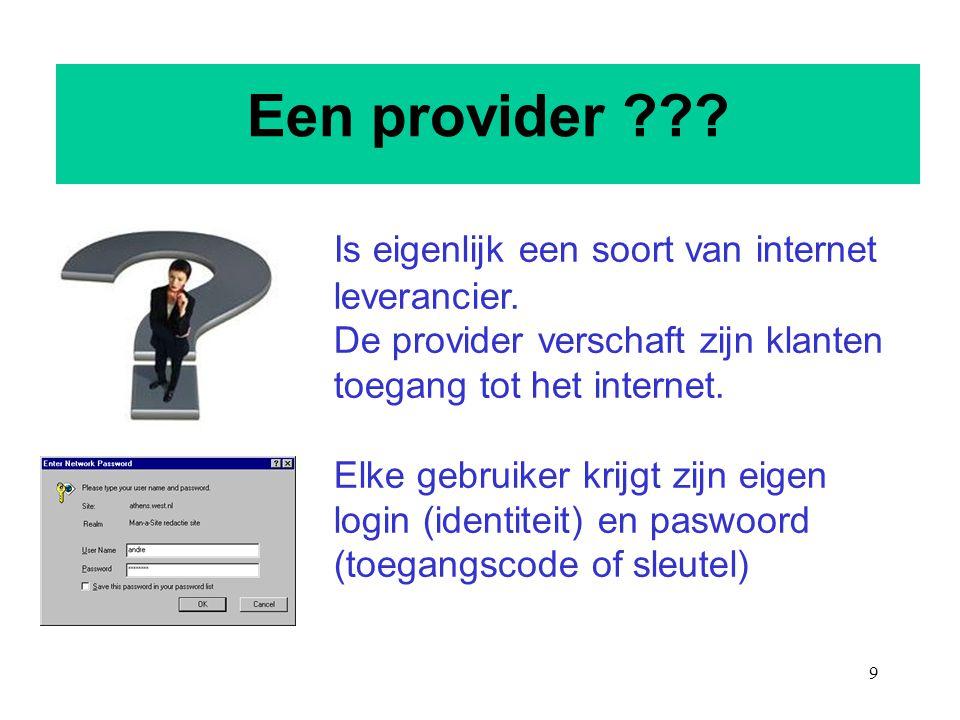 Een provider
