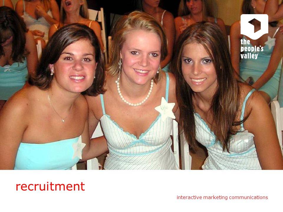 recruitment interactive marketing communications