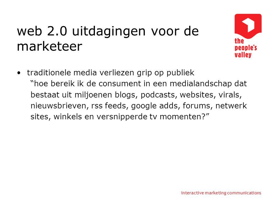web 2.0 uitdagingen voor de marketeer