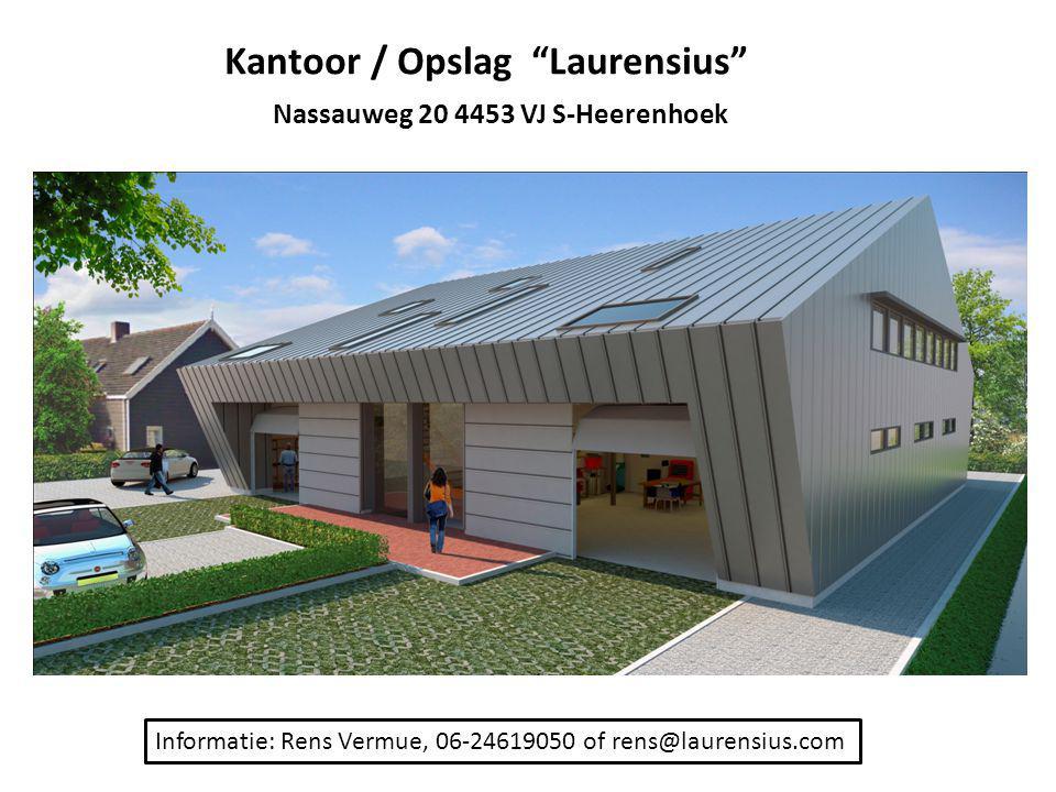 Kantoor / Opslag Laurensius Nassauweg 20 4453 VJ S-Heerenhoek