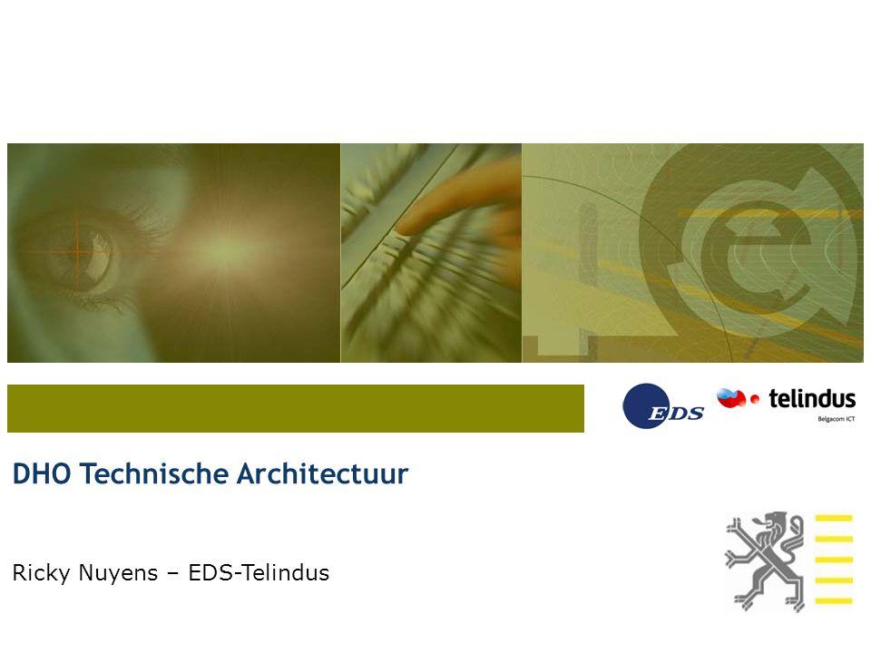 DHO Technische Architectuur