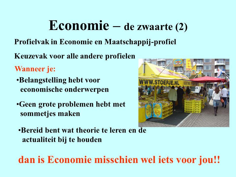 Economie – de zwaarte (2)