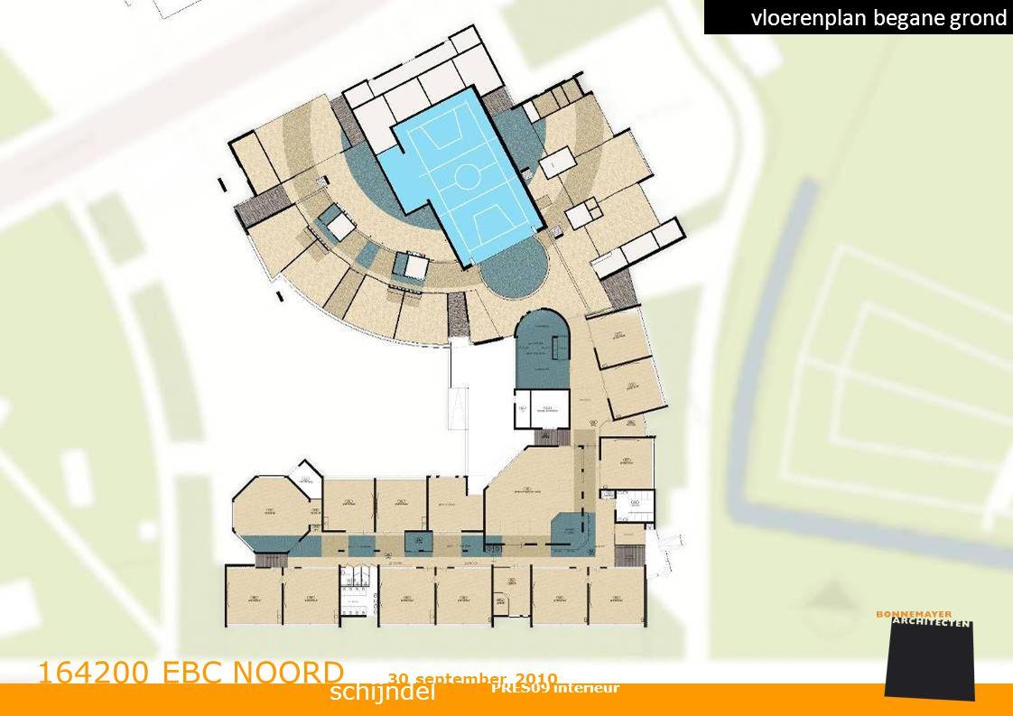 164200 EBC NOORD vloerenplan begane grond schijndel 30 september 2010