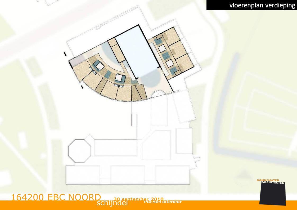 164200 EBC NOORD vloerenplan verdieping schijndel 30 september 2010