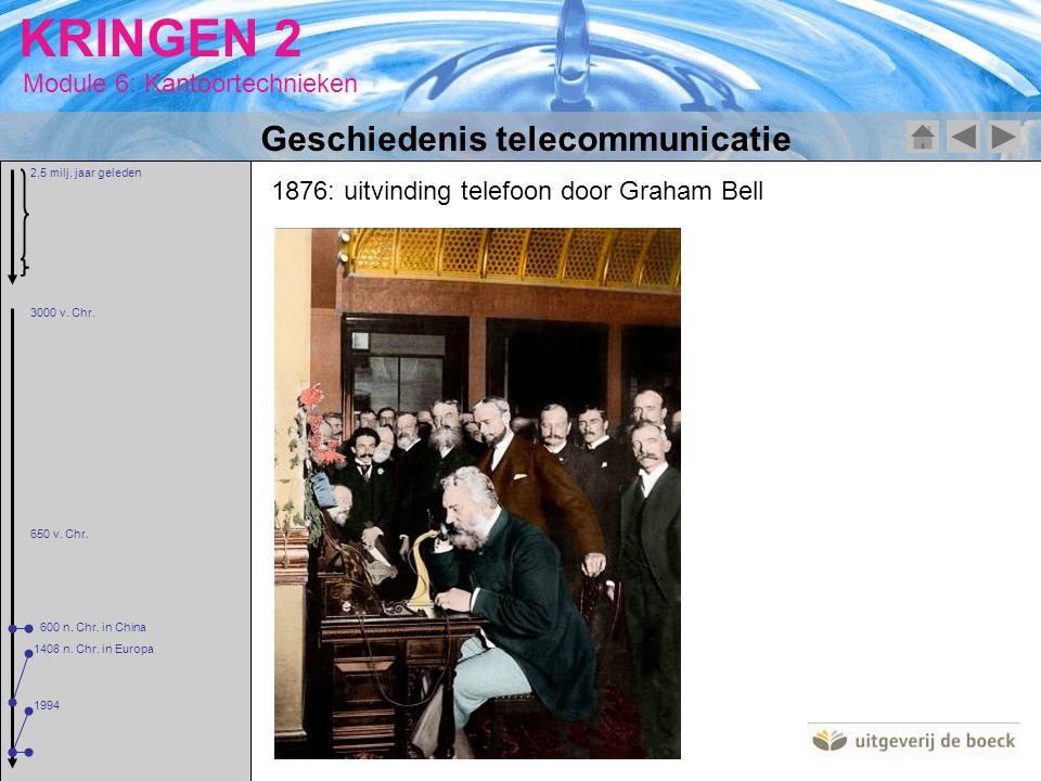 Geschiedenis telecommunicatie