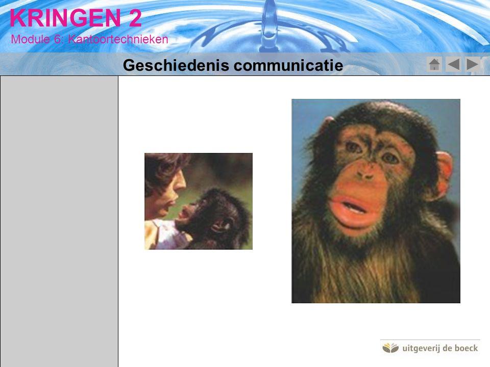 Geschiedenis communicatie