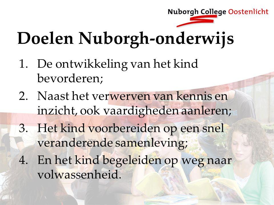 Doelen Nuborgh-onderwijs