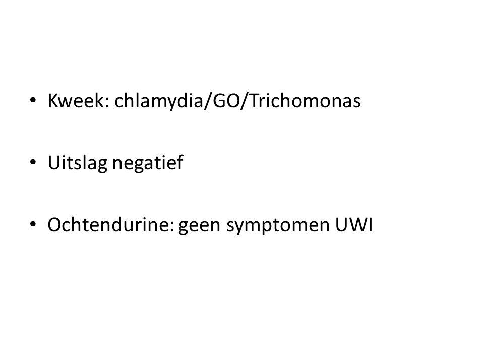 Kweek: chlamydia/GO/Trichomonas