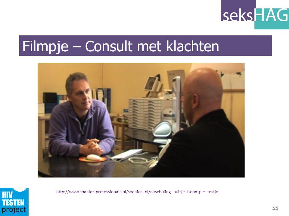 Filmpje – Consult met klachten