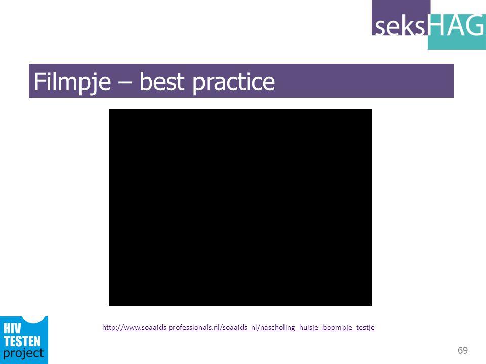 Filmpje – best practice