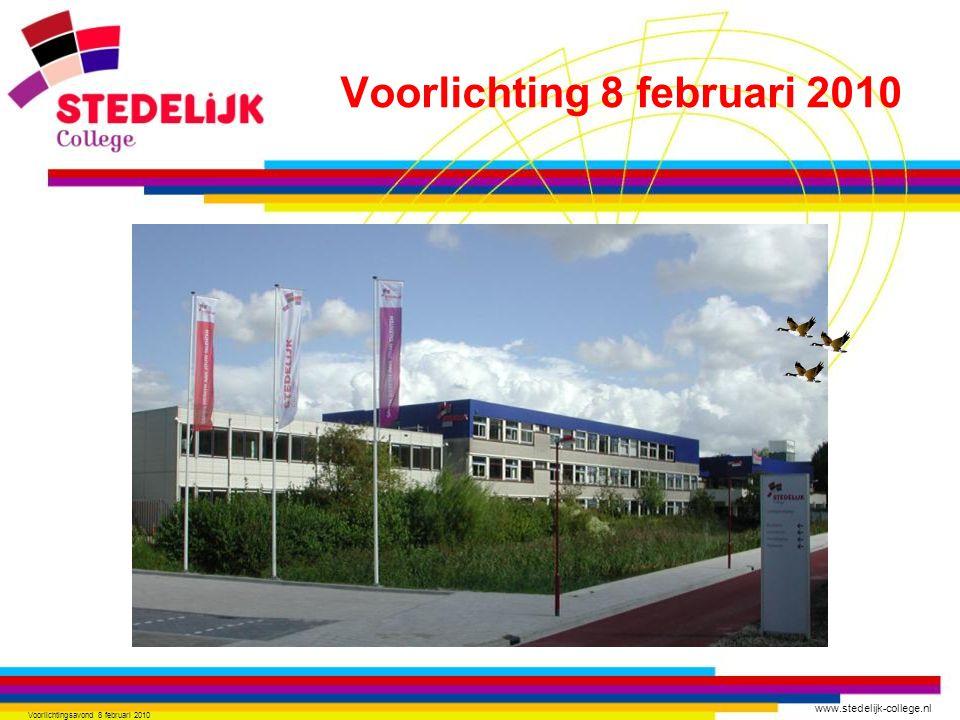 Voorlichting 8 februari 2010