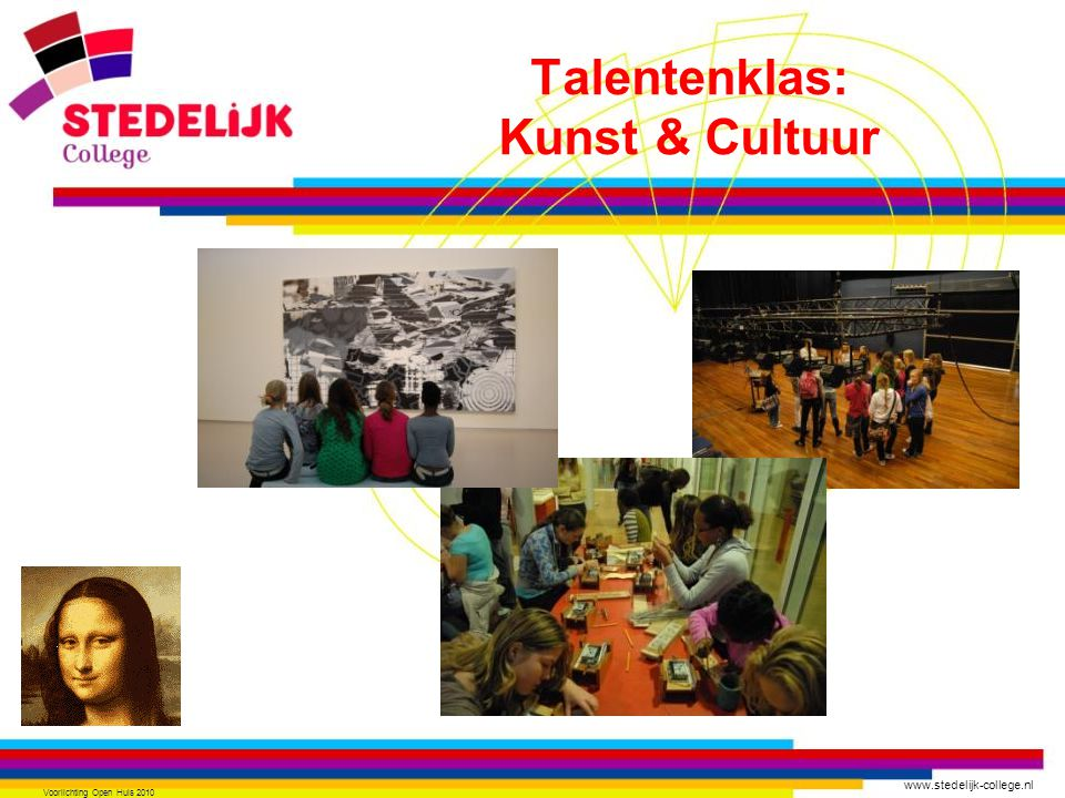 Talentenklas: Kunst & Cultuur