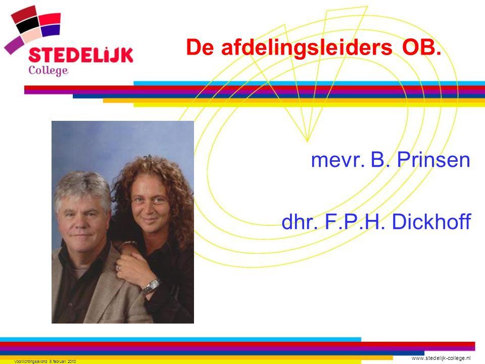 mevr. B. Prinsen dhr. F.P.H. Dickhoff