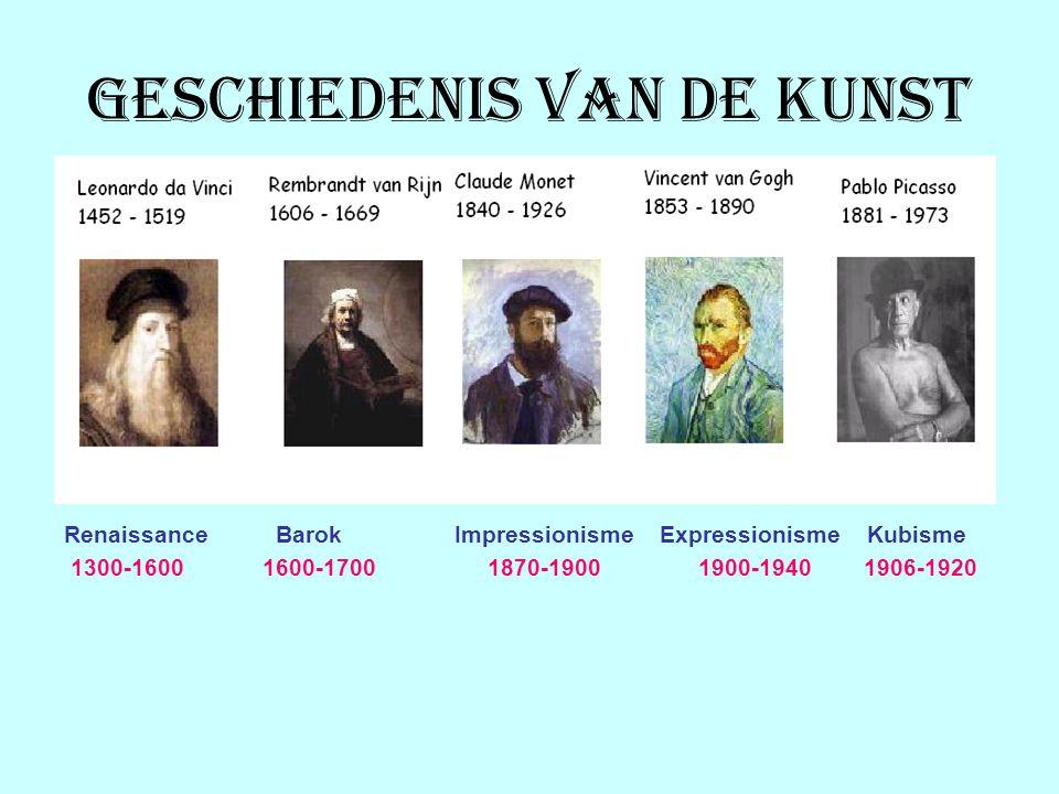 Geschiedenis van de kunst