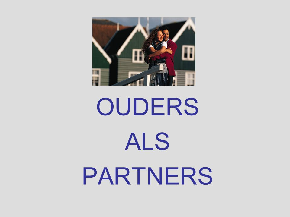 OUDERS ALS PARTNERS