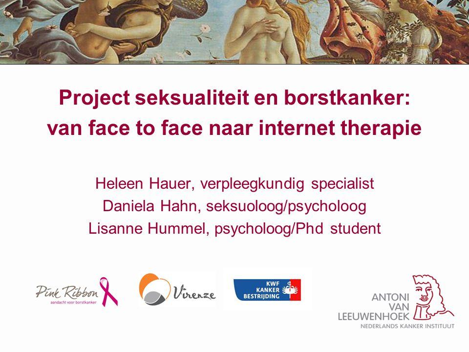 Project seksualiteit en borstkanker: