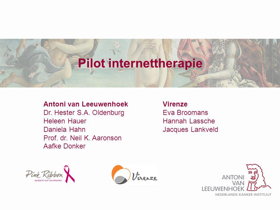 Pilot internettherapie