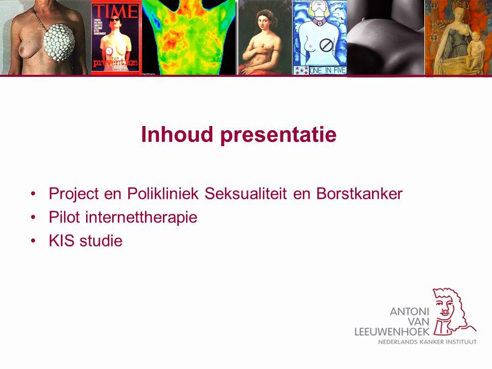 Inhoud presentatie Project en Polikliniek Seksualiteit en Borstkanker