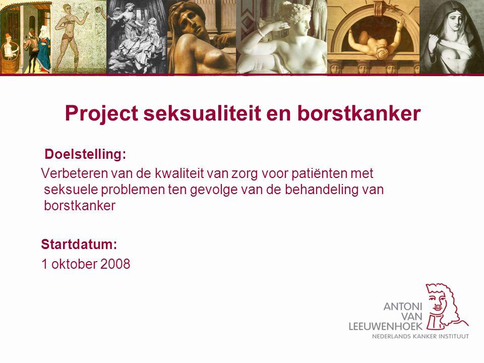 Project seksualiteit en borstkanker