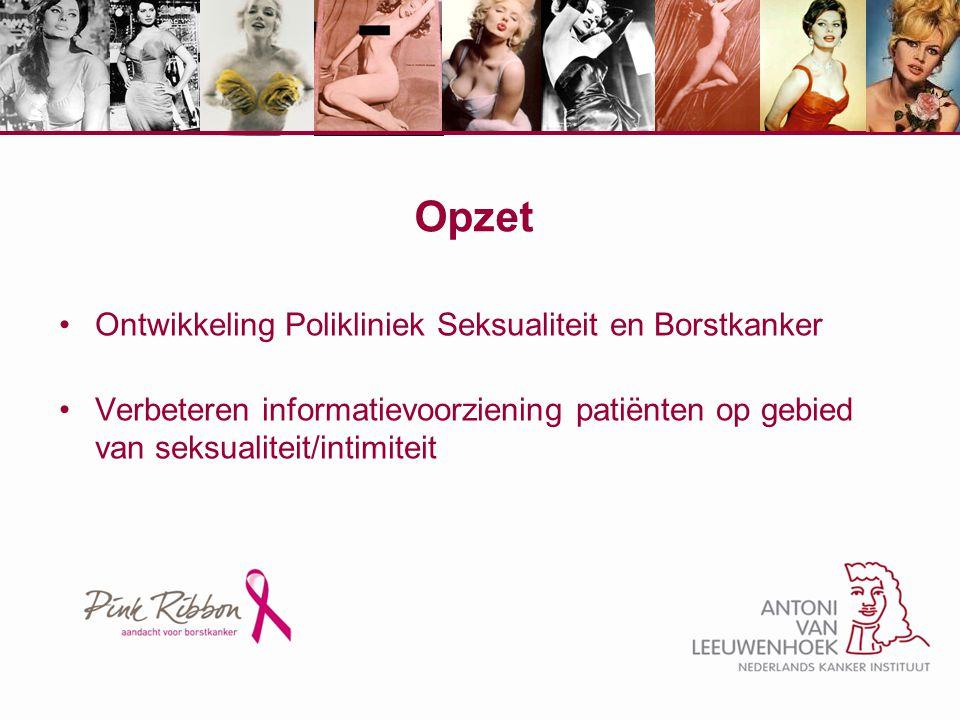 Opzet Ontwikkeling Polikliniek Seksualiteit en Borstkanker