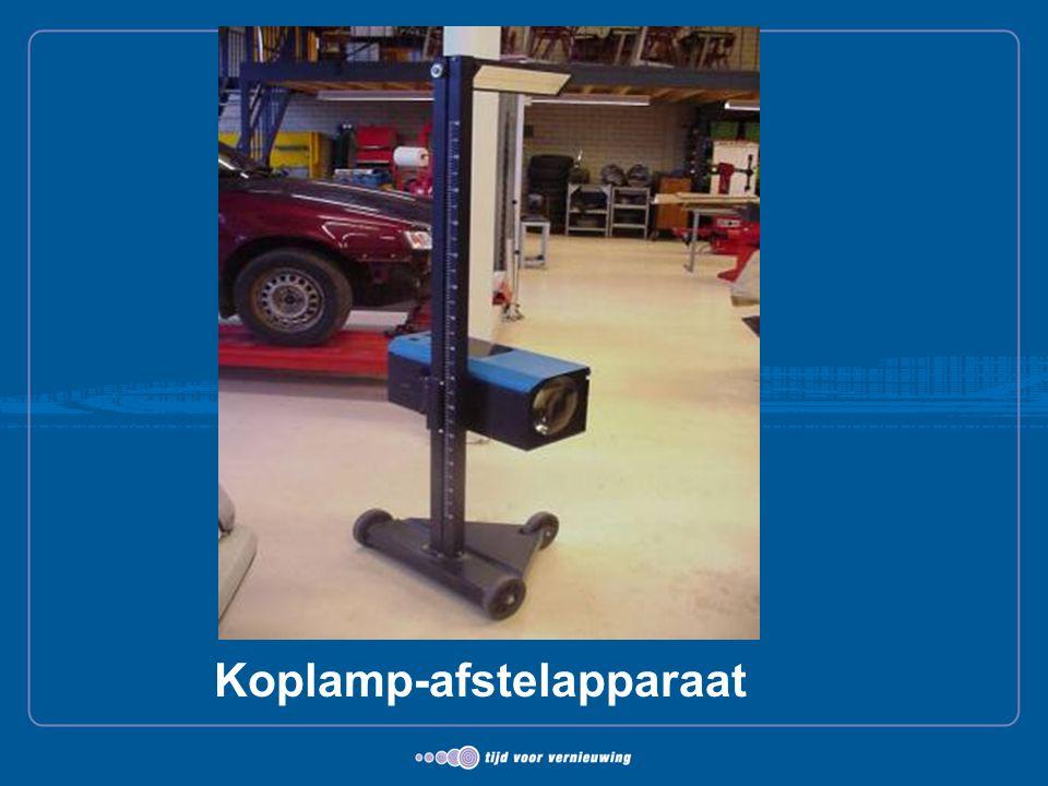 Koplamp-afstelapparaat
