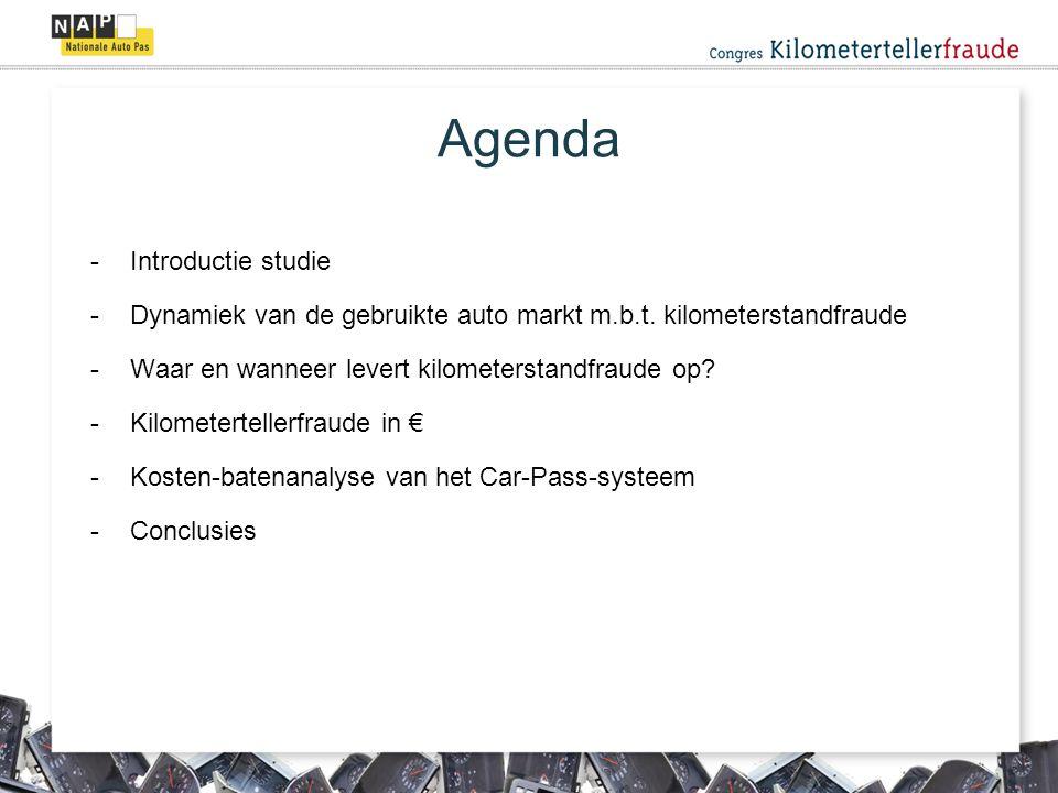 Agenda Introductie studie