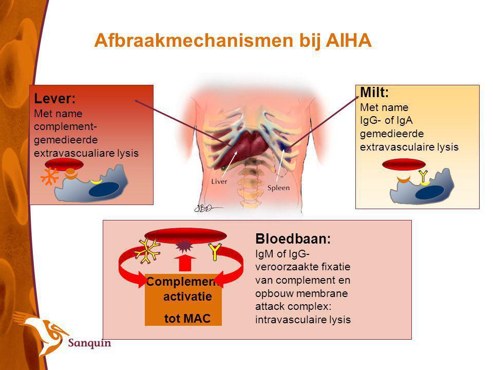 Afbraakmechanismen bij AIHA