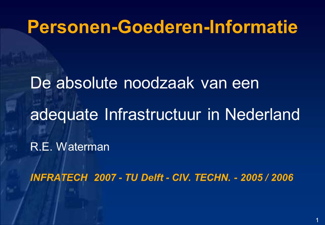 Personen-Goederen-Informatie
