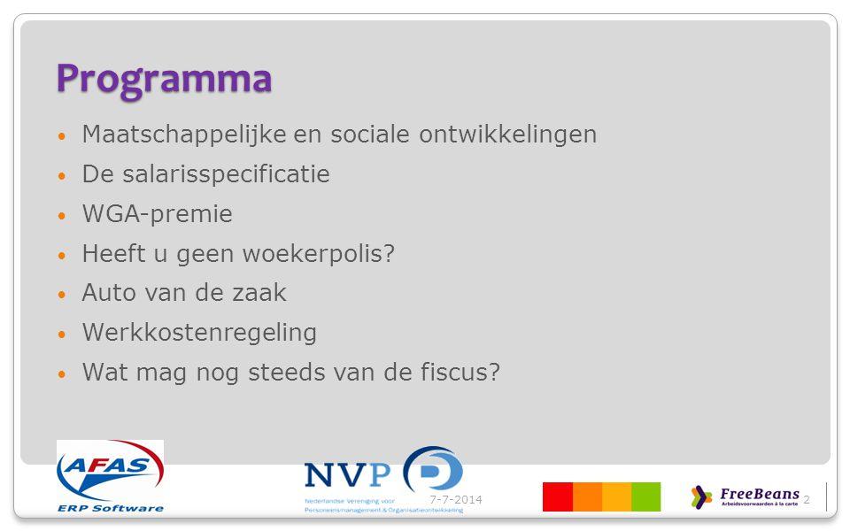 Programma Maatschappelijke en sociale ontwikkelingen