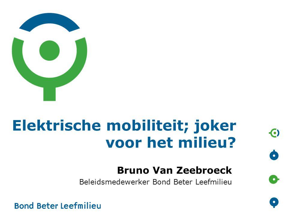 Elektrische mobiliteit; joker voor het milieu