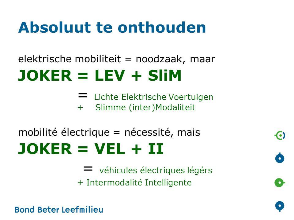 = Lichte Elektrische Voertuigen + Slimme (inter)Modaliteit