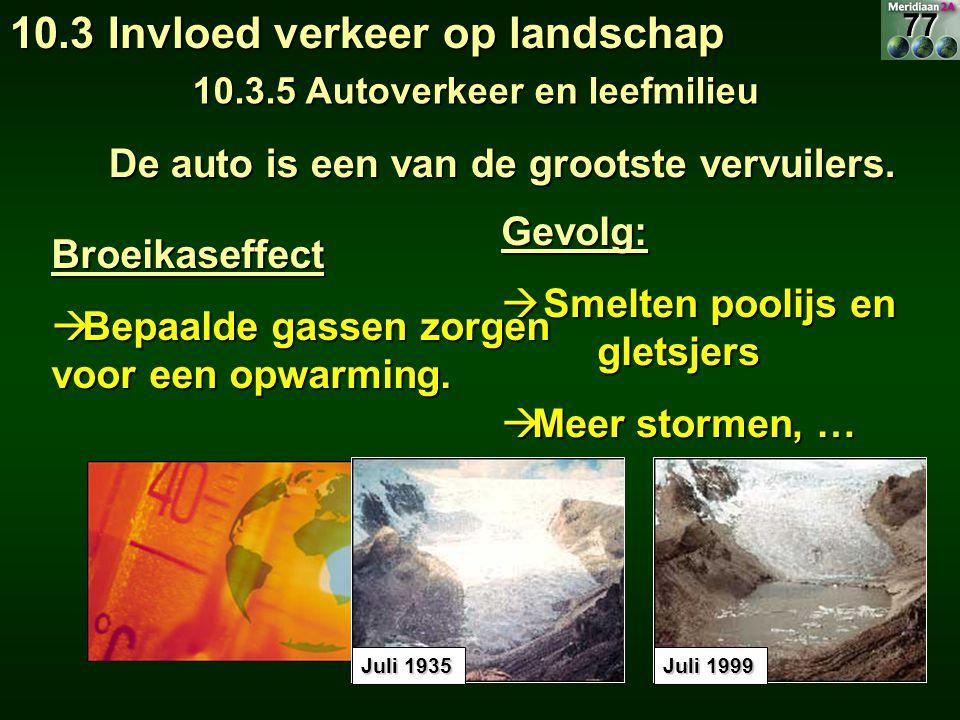 10.3 Invloed verkeer op landschap