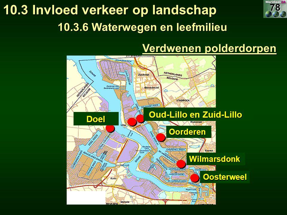 10.3.6 Waterwegen en leefmilieu Verdwenen polderdorpen