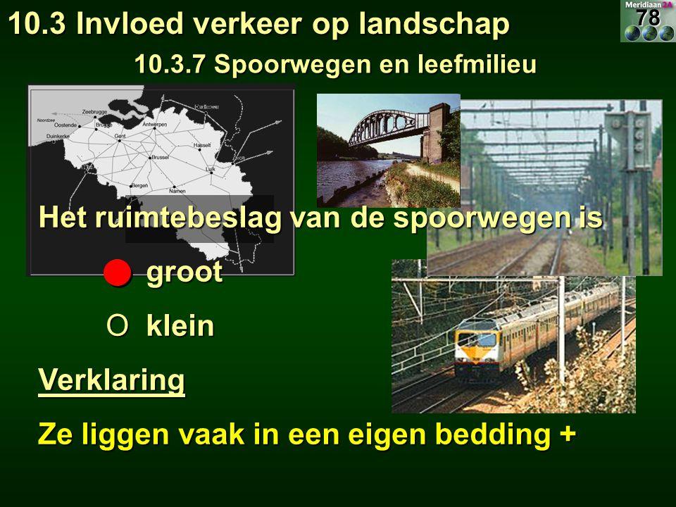 10.3.7 Spoorwegen en leefmilieu
