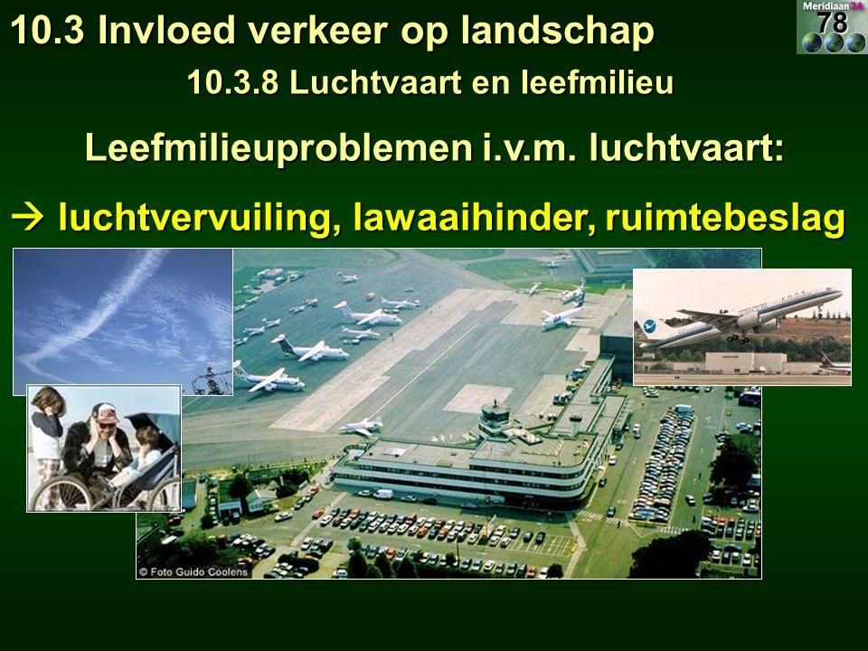 10.3.8 Luchtvaart en leefmilieu
