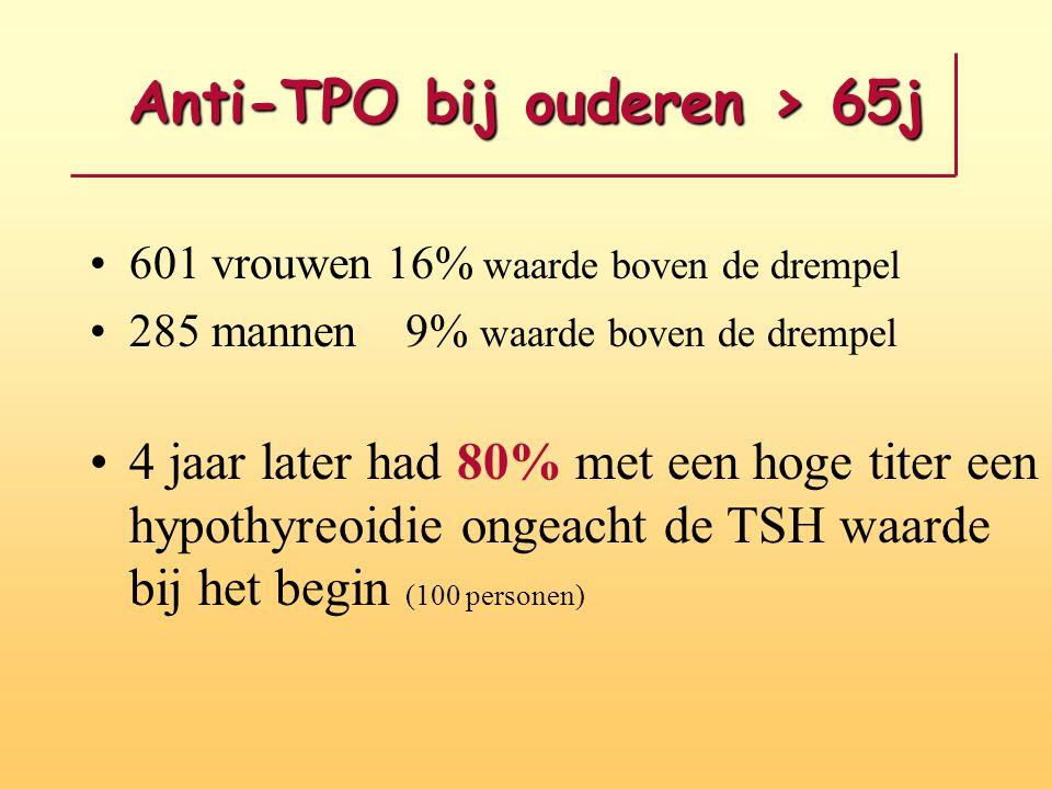 Anti-TPO bij ouderen > 65j