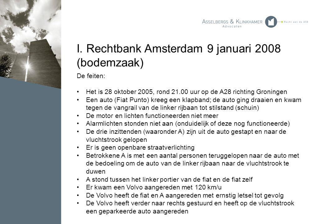 I. Rechtbank Amsterdam 9 januari 2008 (bodemzaak)