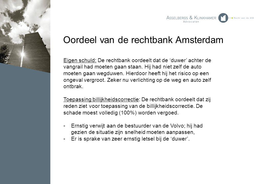 Oordeel van de rechtbank Amsterdam