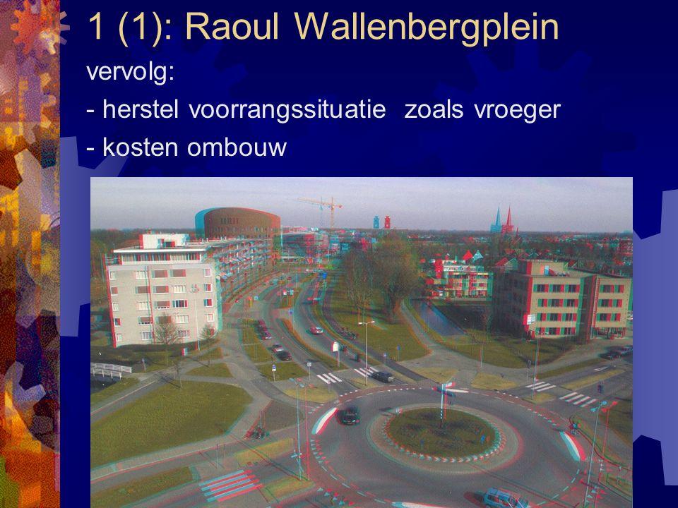 1 (1): Raoul Wallenbergplein