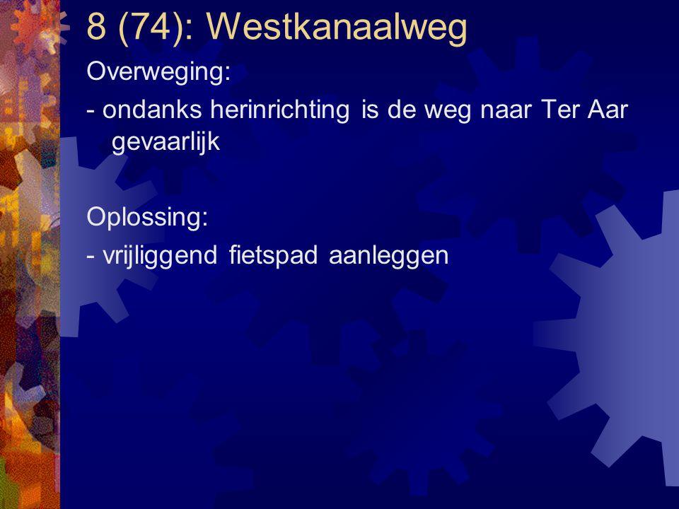 8 (74): Westkanaalweg Overweging:
