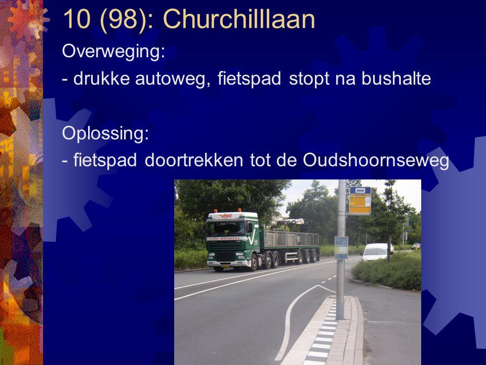 10 (98): Churchilllaan Overweging: