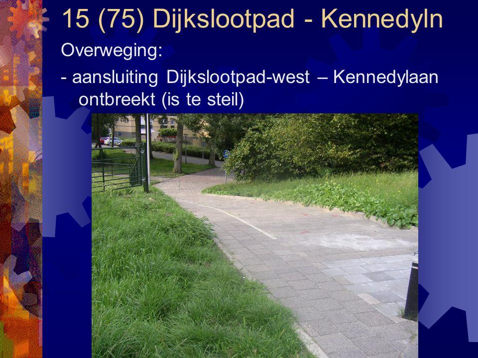 15 (75) Dijkslootpad - Kennedyln
