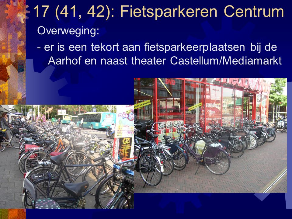 17 (41, 42): Fietsparkeren Centrum