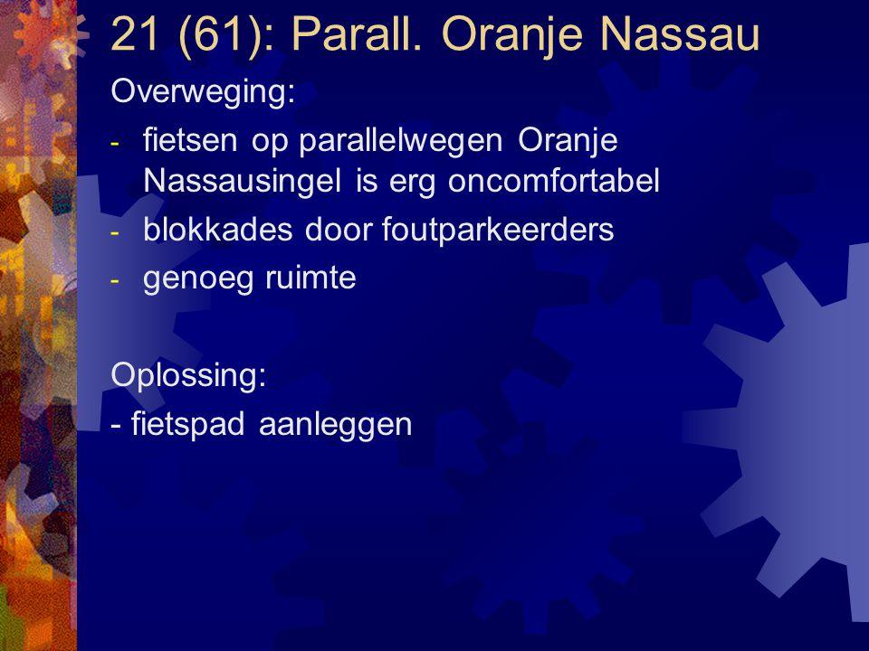 21 (61): Parall. Oranje Nassau