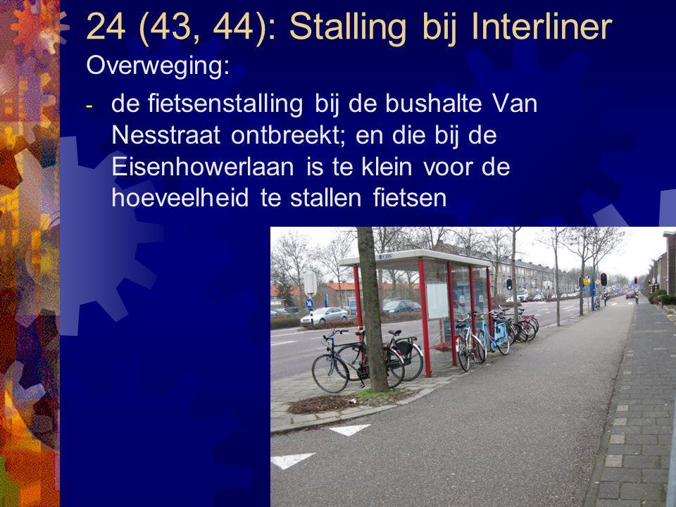 24 (43, 44): Stalling bij Interliner